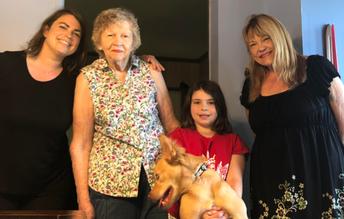 Four Generations & Finn the Dog