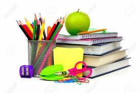 School Supplies for 2019/2020 School Year