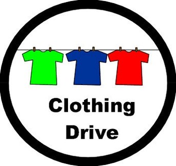 CCHS Leadership students are hosting a Clothing Drive!