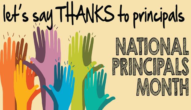 Let's say thanks to principals!