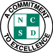 "NCSD Logo, ""A Commitment to Excellence"""