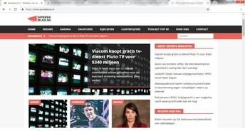 Nieuwssite voor mediaprofessionals