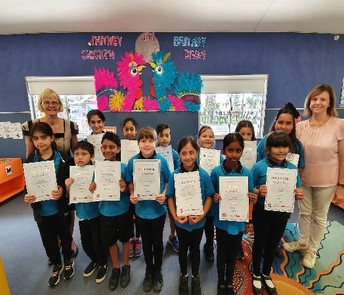 Premier's Reading Challenge Gold Certificates