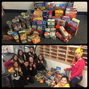 MMS Student Council's Charitable Work!