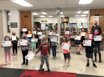 Falcon Ridge April Students of the Month