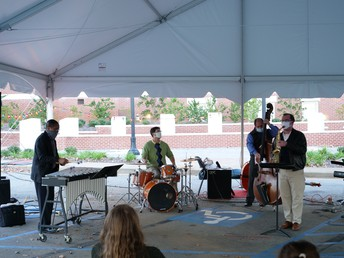 Faculty Combo at Bell Hall Tent