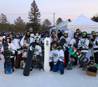 WB Snowboard team compete at state meet!
