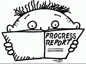 Progress Reports Will Be Distributed On Friday, December 14th