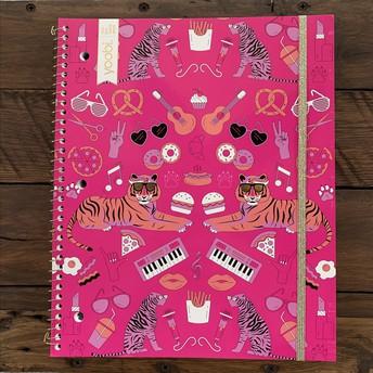 *NEW* 1 Subject spiral notebook
