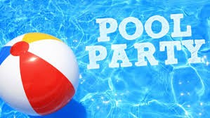 This Wednesday - Pool Party for Juniors