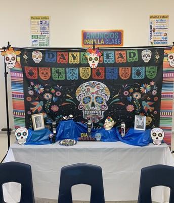 Reagan Middle School's Altar
