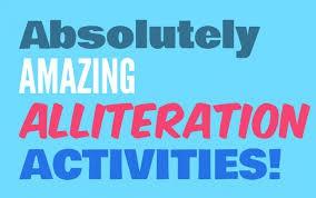 Alliteration (similar word beginnings)
