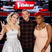 From 40,000 people in open auditions...to the Top 8 on NBC's The Voice!