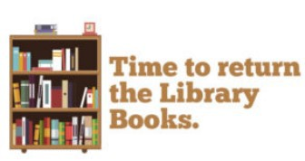 May 29 - Return Library Books & Super Reader Bags with Books!