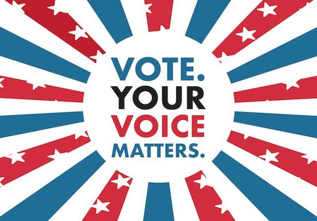 Vote. Your voice matters.