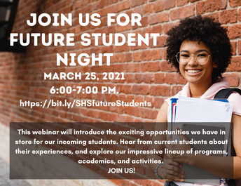 Join Us For Salem High School Future Student Night!