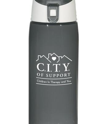 C.I.T.Y. Water Bottle: $10.00
