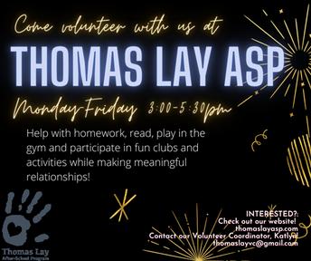 Thomas Lay Tutoring Program
