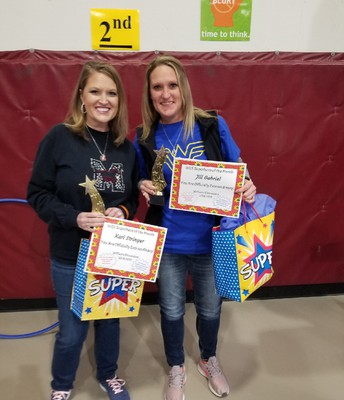 January Staff Superheroes of the Month