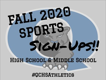 2020 Fall Sports Signups