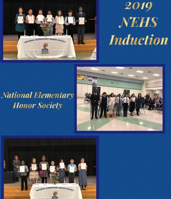 2019 National Elementary Honor Society Induction