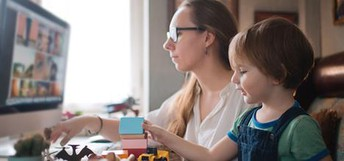 Age-Based Tips to Help Juggle Parenting & Working at Home