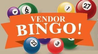 Vendor Bingo this Sunday!
