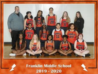 8th Grade Girls' Basketball