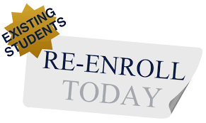 New Re-Enrollment Form and Information