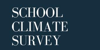 School Climate Survey Announcement