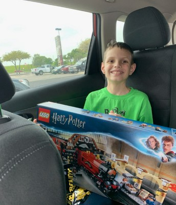 Looks like Maxwell is going to be busy for quite some time with that Lego set!