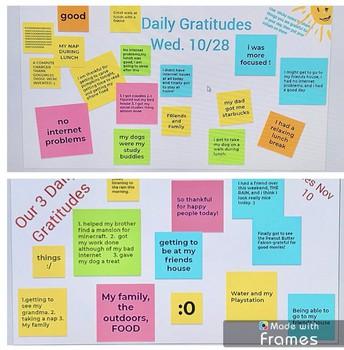 Daily Gratitudes