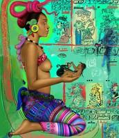 + Ceremonia de pedidos de amor y abundancia en el templo de la diosa Ixchel, señora de la Isla sagrada