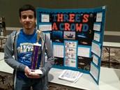 Carlos Advances to Science Fair Regionals