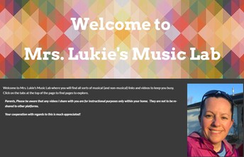 The Chicken Coop, Lunchtime Playlists and more...stay connected with Mrs. Lukie!