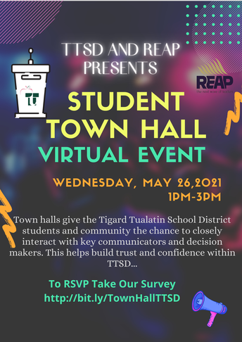 Student Town Hall Virtual Event