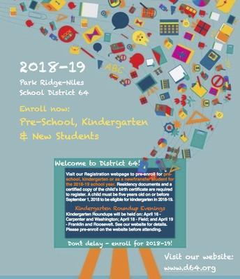 2018-19 Registration Flyer