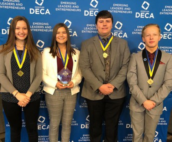 DECA State Medalists