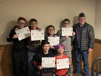 Congratulations to our Patriot Pen Participants and Winners!