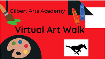 View the Virtual Art Walk on YouTube NOW!!