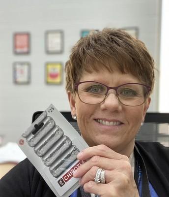 Mrs. Pfaff - Librarian
