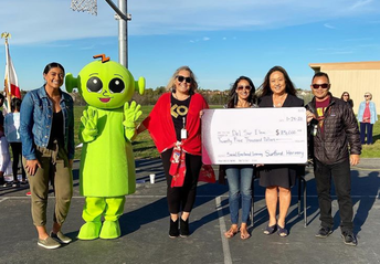 Del Sur ES Presented with Social Emotional Learning Grant