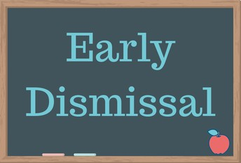 Half Day & Early Dismissal - December 20th