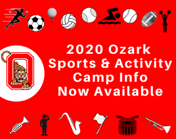 2020 Sports Camp graphic