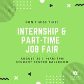 Internship & Part-time Job Fair