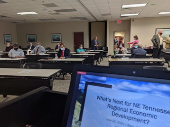 Economic development consultants to public, private-sector leaders: You're better together if you can get past the hurdles