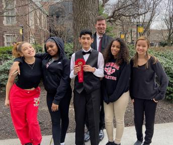 High School Select Choir Earns a Judge's Award