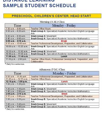 Preschool, Children's Center, Head Start