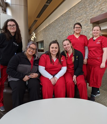 A day of clinicals at MVH well done!