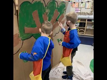Kindergarten Literacy in action!
